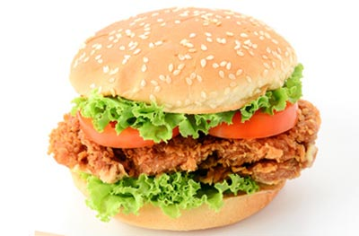 CRUNCHY CHICKEN BURGER