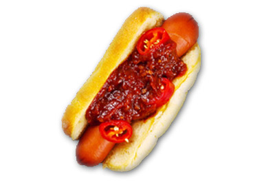 HOT FIRE DOG